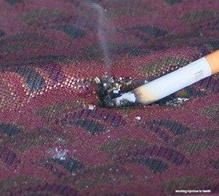 Cigarette Smoking Fires
